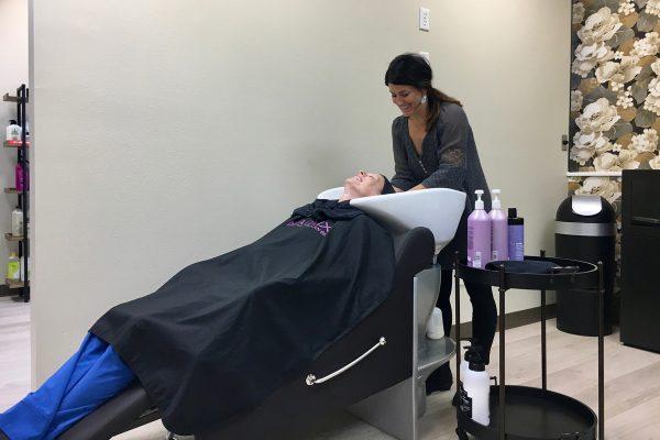 evolve beauty studio haircut