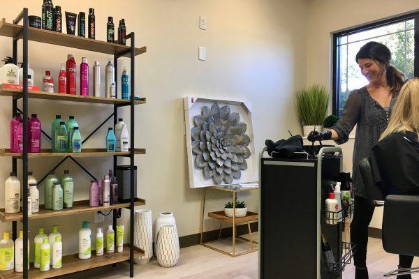 evolve beauty studio hair highlights